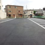 パチンコ店舗駐車場舗装工事