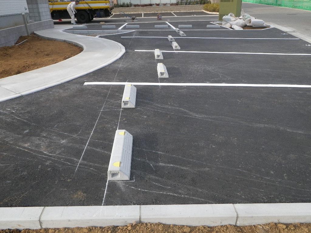 集合住宅駐車場工事①